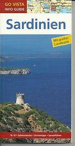 Reiseführer Sardinien mit Landkarte 2016/17 Neu + ungelesen 96 S. Cagliari Olbia