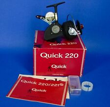Vintage DAM Quick 220 Spinning Reel MINT in BOX Germany