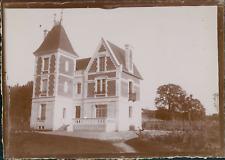 France, La maison des Deneux, ca.1900, vintage citrate print Vintage citrate pri