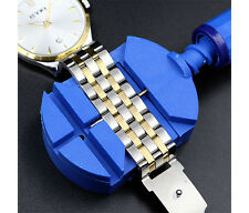Watch Band Strap Bracelet Pin Adjuster Link Remover Tool Repair Tools blue