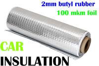 4 qm ALUBUTYL Dämmmatte 50x800 cm Bitumen-Ersatz Anti-Dröhn Matte Auto Tür HiFi