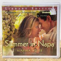 Summer in Napa by Marina Adair Ex Library 9 CD Unabridged Audiobook Free Ship
