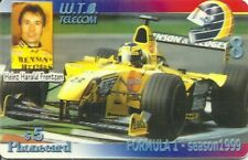 RARE / CARTE TELEPHONIQUE - FORMULE 1 HARALD FRENTZEN JORDAN F1 RACE / PHONECARD