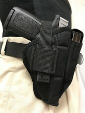 Gun Holster with Mag Pouch Fits Hi Point Auto 9mm or 380 Left or right hand draw