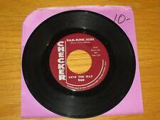 "INSTRUMENTAL 45 RPM - GENE THE HAT - CHECKER 960 - ""RAM-BUNK-SUSH""+""JELLY BEANS"""