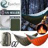 Full Length Hammock Underquilt Camping Hiking Under Quilt Winter Warm Blanket US
