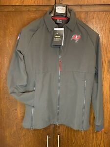 Women's NIKE THERMA On-Field Tampa Bay Buccaneers Full-Zip Jacket Size Small New