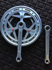 Sugino Maxy Forged Double Crank Crankset 171 Cotterless Vintage Road BMX Fixie