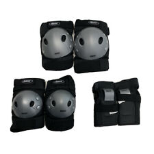 Roces 301377 Protective Gear 3 Pack Junior Small Black Skate Elbow Knee Hand Pad