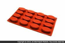 Paderno  Flexipad   Moule flexible en silicone - 16 ovales