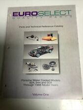 PORSCHE 924,944 And 928.EUROSELECT Parts And Technical Reference Catalog . (BC3)