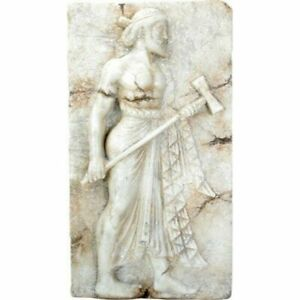 SUMMIT BY WHITE MOUNTAIN Vulcan Holding Metal Hammering Tool Roman Wall Relief