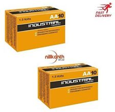 Duracell Industrial 20 X AA Pilas Alcalinas Reemplaza Procell MN1500 1.5 V LR6