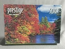 Prestige Jigsaw Puzzle, Ossippee River NH, 504 pieces, New, Sealed
