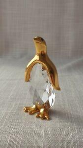 Swarovski Crystal 1980's Trimline Large Penguin