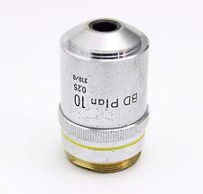 Nikon BD Plan 10x 0.25 210mm Optiphot Epiphot Microscope Objective