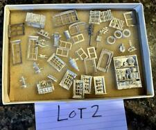 HO Fine Scale Miniatures, Scale Structures Parts Metal detailing LOT #2