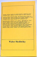 WALTER SHEDLOFSKY: POETIC DETECTIVE CHALLENGE— Acrostic Press (1986)