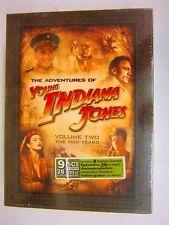 The Adventures of Young Indiana Jones - Volume 2 (DVD, 2007, 9-Disc Set)   NEW