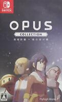 USED Nintendo Switch OPUS collection Earth plan + soul of the bridge