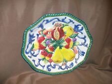 *Imperfect* Fitz & Floyd Home Fragrance Fruit Bowl