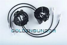 H7 HID Bulb Holders Adapters For Volkswagen VW Golf GTi Passat Halogen Headlight