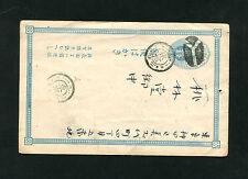 Japan Ganzsache   gelaufen    (EB-6)
