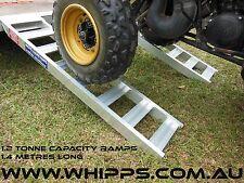1.2 Tonne Capacity Aluminium Loading Ramps 1.4 metres long x 280mm wide