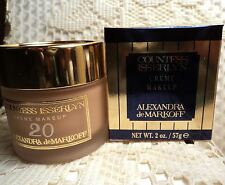 Alexandra De Markoff Countess Isserlyn Creme Makeup - Color 20 - Boxed