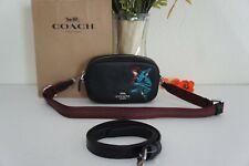 NWT Coach 3562 X marvel convertible belt bag w/ black widow Crossbody Pouch $328