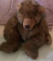 Russ Timber the Brown Bear Plush  Excellent Condition
