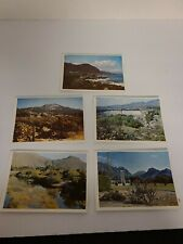 Lot of 5 Vintage Postcards South Africa Outdoor Scenery Rare Lot EUC