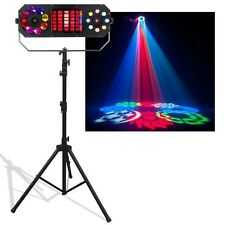More details for american dj boom box fx2 dj disco stage led lighting effect with stand & adaptor