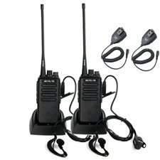 Retevis RT1 VHF Funkgerät LangeReichweite 16Kanäle 3000mAh CTCSS Walkie Talkie