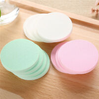20pcs Round Wet and Dry Dual Use Makeup Sponge Powder Puff Cream Concealer