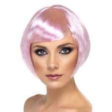 Smiffys 42053 Déguisement Femme Perruque de bimbo Rose Taille Unique