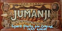 Original Vintage 1995 MB Jumanji Game Spare Parts