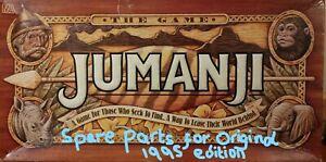 Original Vintage 1995 MB Jumanji Game Spare Parts