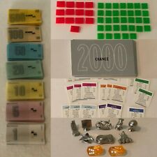 Monopoly Millenium Edition Board Game Replacement Parts Pieces Choice Tokens