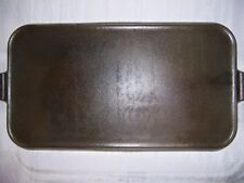 GRISWOLD CAST IRON #11 LONG GRIDDLE WITH ORIGINAL BOX PIN # 911