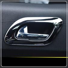 For Peugeot 3008 2009-2015 Chrome car Inner side door handle bowl cover sticker