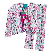 Monster High 2-pc. Lagoona Blue Pajama Set-  Size Medium (7/8) NWT Girls