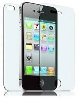 12 pcs (6 Front + 6 Back ) full body iPhone 4 4g 4S Ultra Clear Screen Protector