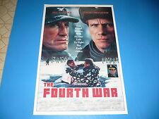 THE FOURTH WAR Movie ORIGINAL Poster, ROY SCHEIDER, Jurgen Prochnow, TIM REID