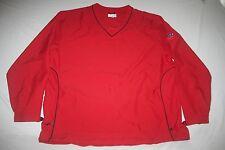 Cutter & Buck Windbreaker Pullover Jacket  WindTec Men XLT Red NEW Republican NY