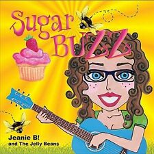 Jeanie B! and the Jelly Beans-Sugar Buzz 2011 CD. NEW SEALED!!