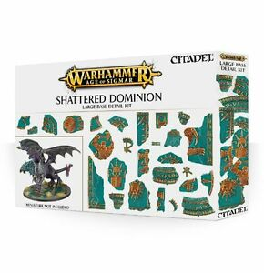 Shattered Dominion Grande Basi Dettaglio Kit - Warhammer - Games Workshop