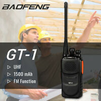 Baofeng GT-1 UHF 70cm-Band Two-way Ham Radio FM Walkie Talkie CTCSS > BF-888s