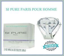 SI PURE PARIS EAU DE TOILETTE POUR HOMME 3.4 OZ SPRAY NEW IN THE BOX