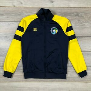 New York Cosmos Umbro Football Soccer Full Zip Track Jacket size M